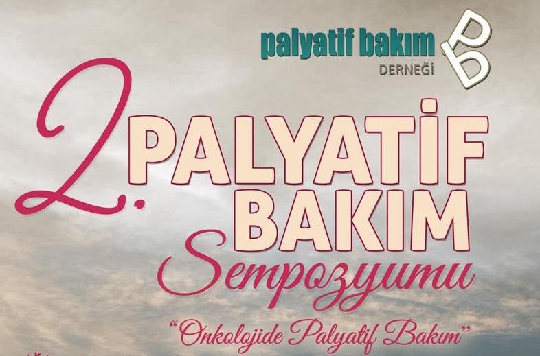 2. Palyatif Bakım Sempozyumu 20-21 Eylül 2019 tarihinde İzmir'de yapılacak.