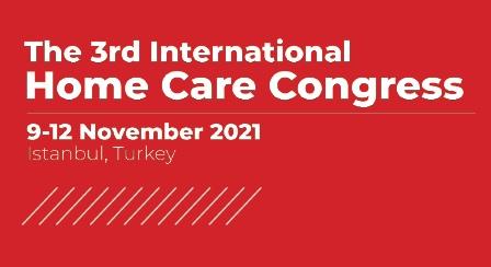 3. Uluslararası Evde Bakım Kongresi 9-12 Kasım tarihlerinde düzenlenecek.